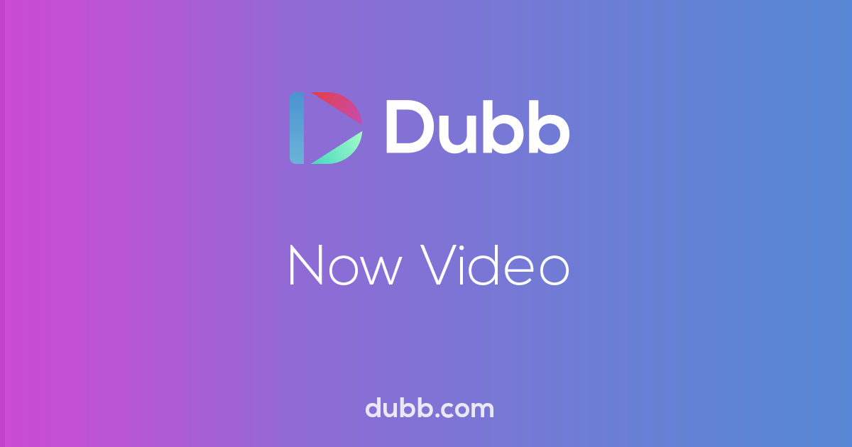 Dubb - Video Communication for Sales Leaders